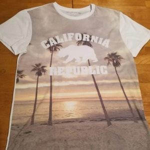 Men's California Republic Shirt. Size large.